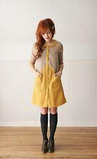 DEAR CREATURES - Venture Dress in Tan Yellow modcloth vintage retro M BNWT