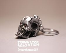 Terminator Salvation Endo Skull Head Action Figure Key Ring key chain Silver Hot