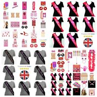 HEN PARTY ACCESSORIES WILLY GAMES SASH BRIDE GIRLS DARE DRINKING FUN TEAM BRIDE