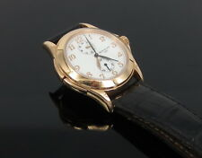 Estate Patek Philippe Travel Time 18K Rose Gold Watch Reference 5134R-001