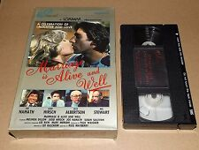 Marriage is Alive and Well vhs video U.S.A. HOME VIDEO big box Joe Namath