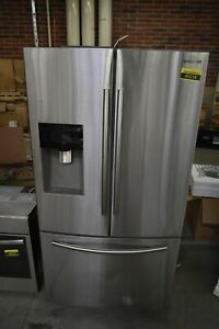 "Samsung RF263BEAESR 36"" Stainless French Door Refrigerator #45218 HRT"