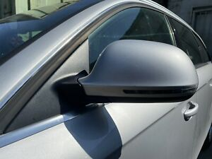 Audi A4 B8 Electric Heated Folding Mirror Indicator In Silver 2008 To 2012