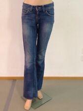 Hilfiger Denim Jeans Blau Reg Fit Low Waist Boot Cut W26 L34 Sally Vintage 1A