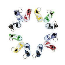 Canvas Sneaker (Lot of 12) Tennis Shoe Chucks Keychain Party Favors Toys Goodies