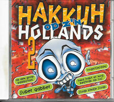 V/A - Hakkuh op z'n Hollands 2 CD 12TR Happy Hardcore Gabber 1997