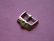 18MM OMEGA GOLDPLATED WATCH STRAP BUCKLE, WILL FIT 20MM STRAPS