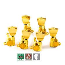 NEW Gotoh SG360-04 Tuners Set Mini Schaller Style Keystone w/ screws 3x3 - GOLD