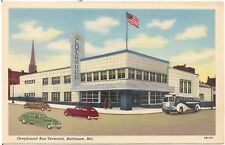 Greyhound Bus Terminal in Baltimore MD Postcard