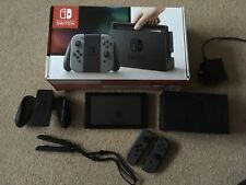 NINTENDO SWITCH CONSOLE 32GB GREY **FANTASTIC CONDITION**
