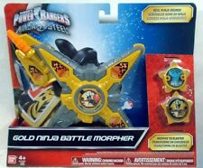 Power Rangers Ninja Steel Gold Ninja Battle Morpher With Ninja Stars (MISP)
