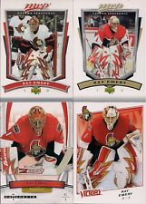 GOALIES Ray Emery 4 Card Lot Victory MVP & Hot Prospects