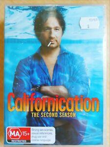 Californication : Season 2 [3 DVD Set] Region 4, BRAND NEW & SEALED, Free Post