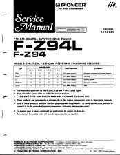 Service Manual-Anleitung für Pioneer F-Z94