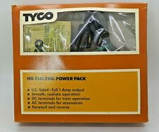 Tyco HO 1 AMP Electric Power Pack, DC And AC Current Out Put, Fwd/Rev, Variable