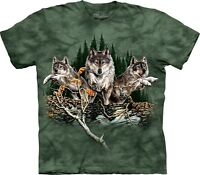 Find 12 Wolves Wolf T Shirt Adult Unisex The Mountain