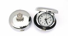 Flying Scotsman Travel Chrome Alarm Clock Ideal Train Driver Gift