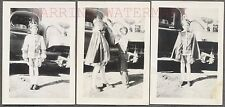 Lot of 3 Vintage Photos The Young Prince w/ Boy Crown & Texas Oil Truck 761743