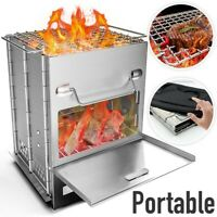 Portable Folding Stove Solar Cooker Oven Fuel Free Picnic Cooking Barbecue