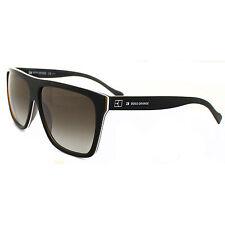 Hugo Boss Gafas de sol 0082 7V8 CC Negras con lentes marrones degradadas