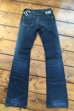 DIESEL RONHAR JEANS W25 L36 LADIES NEW WITH TAGS MADE IN ITALY