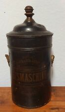 Antike Eismaschine Kanister um 1900, unrestauriert