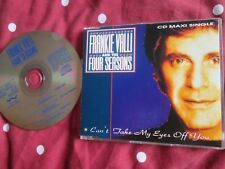 Frankie Valli And The Four Seasons Can't Take My Eyes Off You VALCD1 CD Single