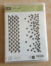Stampin Up RETIRED Dotty Angles photopolymer stamp set