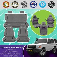 Tailor Made All Terrain Seat Covers for TOYOTA LANDCRUISER VDJ 70 SERIES 05//2...
