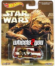 Damaged - 66 DODGE A100 - Hot Wheels Pop Culture STAR WARS Real Riders