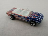 Hot Wheels Stars & Stripes Ford Mustang Convertible 1983 Free Postage