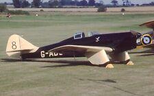 Original 35mm Aircraft slide Miles M.2L Hawk Speed Six #51