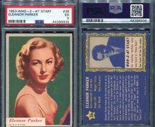 1953 WHO-Z-AT STAR? #36 ELEANOR PARKER PSA 5 (6936)