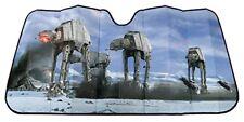 "New Disney Star Wars Hoth Scene Accordion Sun Shade 58"" x 27"" Universal Fit"