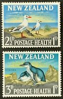 New Zealand. Health Stamps, Birds Stamp Set. SG822/23. 1964. MNH.  #AH301