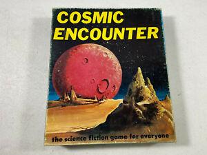 Original Cosmic Encounter 1st Ed 1977 Future Pastimes Board Game Sci Fi Aliens