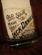 Jack Daniels Old Sour Mash Tennessee Whiskey Glass 7 Ounce #19