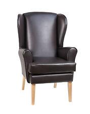 """WATERPROOF High Seat Orthopaedic Chair in  Manhattan Brown 19"""" SEAT HEIGHT"""