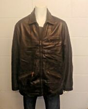 PUMA SPECIAL EDITION 1948 - 1998 100% Quality Leather Jacket. Size Extra Large