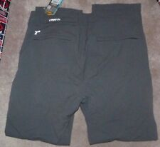NEW TRAYL Trail Commuter Water Resistant Pants Men 2XL XXL Grey Gray NEW NWT