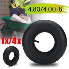 4.80/4.00-8 Inner Tube Bent Air Valve 1x/4x For Pneumatic Wheel Trolley Wheel