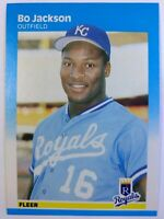 1987 Fleer Bo Jackson Rookie RC #369, Kansas City Royals