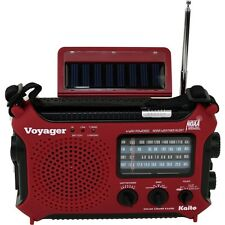Kaito KA500, 5-way Powered Emergency AM/FM/SW NOAA Weather Alert Radio KA500-RED