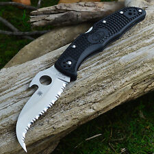 Spydeco Matriarch 2 VG-10 FRN Handle Folding Knife With Emerson Wave C12SBK2W