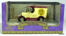 LLEDO - DG050041 BULLNOSE MORRIS VAN - QUEEN ELIZABETH 75TH BIRTHDAY
