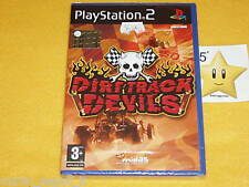 PS2  DIRT TRACK DEVILS  Playstation 2 _vers_ITA_NUOVO