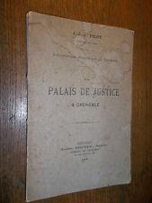 Le palais de justice à Grenoble J.J.A. Pilot 1876 Biblio.historique du Dauphiné