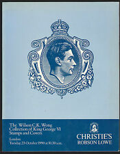 CHRISTIE'S THE WILSON C.K. WONG COLLECTION OF KING GEORGE VI STAMPS AND COVERS