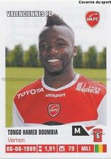N°471 TONGO HAMED DOUMBIA # MALI VALENCIENNES.FC VAFC STICKER FOOT 2014 PANINI