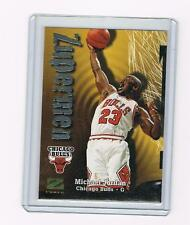 MICHAEL JORDAN 1997-98 SkyBox Z-Force ZUPERMEN #190 & HISTORY of the DUNK # 66